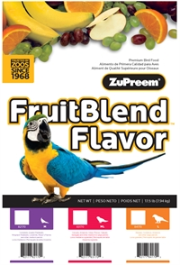 Fruit Blend Flavor Avian Diets m/l