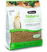 ZuPreem Natural - Complete Food for Medium birds  1,133kg.