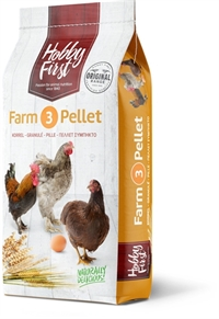 Hobby First, Farm 3 Pellet, 20 kg