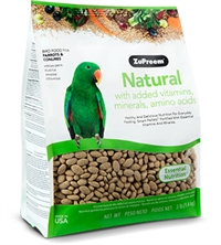 ZuPreem Natural - Complete Food for Parrots 1,4 kg.