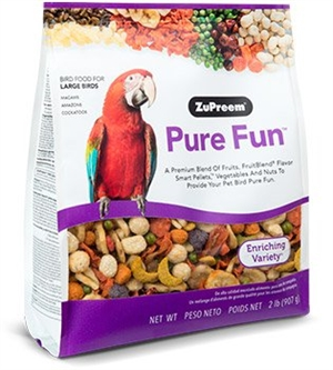 Zupreem PURE FUN, Large Birds  900 g.