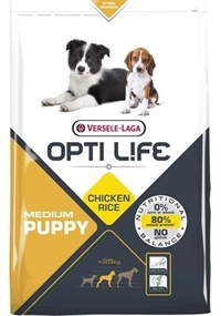 OPTI LIFE PUPPY MEDIUM 12,5 kg.