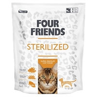 FourFriends Cat Sterilized  0,300 g. Beløbet refunderes...